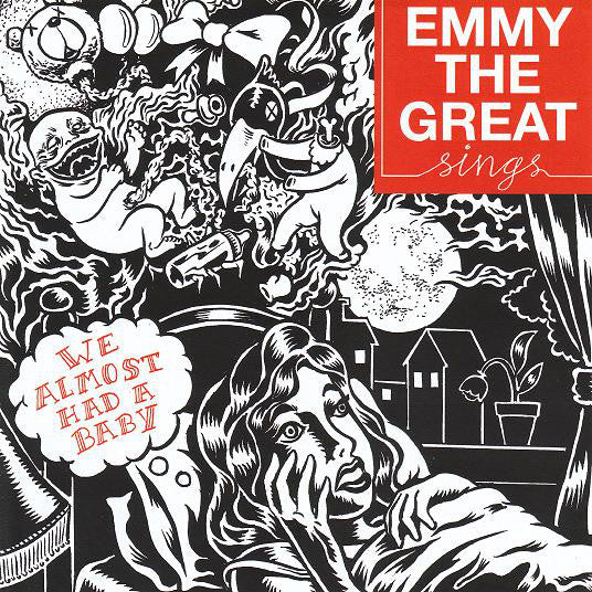 "Emmy The Great : We Almost Had A Baby (7"", Single, Ltd)"
