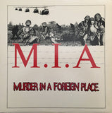 M.I.A. (3) : Murder In A Foreign Place (LP, Album)