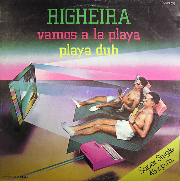 "Righeira : Vamos A La Playa / Playa Dub (12"", Single)"