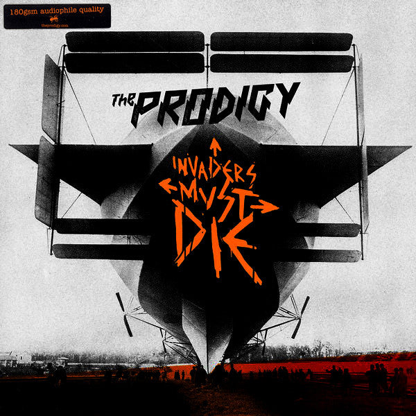 The Prodigy : Invaders Must Die (2xLP, Album, 180)