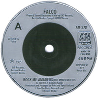"Falco : Rock Me Amadeus (7"", Single)"