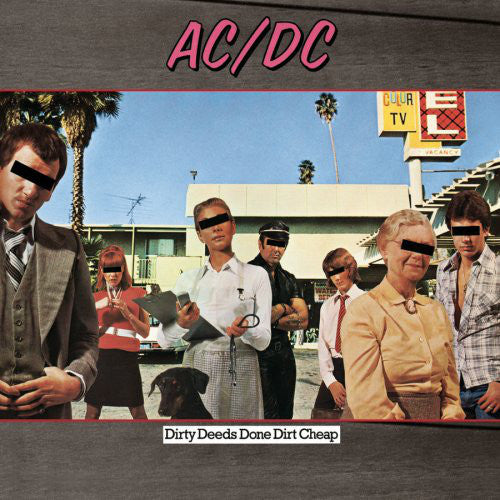 AC/DC : Dirty Deeds Done Dirt Cheap (LP, Album, RE, RM, 180)