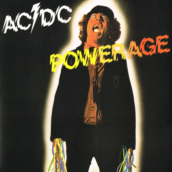 AC/DC : Powerage (LP, Album, RE, RM, 180)