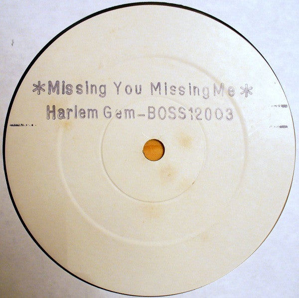 "Harlem Gem : Missing You Missing Me / Heaven Is (Lying In Your Arms) (12"", W/Lbl)"