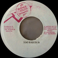 "Johnny Too Bad Featuring Vicking Crew : Johnny Too Bad (7"")"
