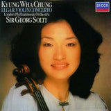 Sir Edward Elgar / Kyung-Wha Chung / The London Philharmonic Orchestra / Georg Solti : Violin Concerto (LP, Album)
