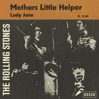 "The Rolling Stones : Mothers Little Helper / Lady Jane (7"", Single, Mono)"