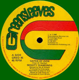 "The Mighty Diamonds / Sly & Robbie : Gates Of Zion / Zion In Dub (12"")"