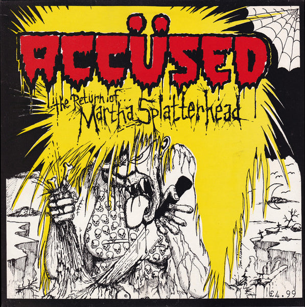 Accüsed* : The Return Of... Martha Splatterhead (LP, Album)
