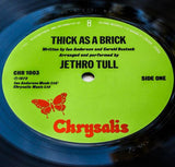 Jethro Tull : Thick As A Brick (LP, Album)
