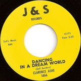 "Clarence Ashe : Dancing In A Dream World / Trouble I've Had (7"")"
