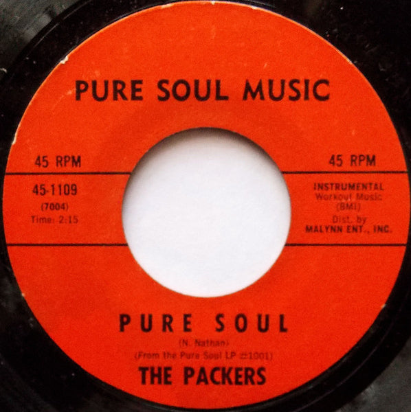 "The Packers : Pure Soul / I'm Converted (7"")"