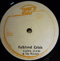 "The Vibes Tone / Tapper Zukie : Leaders Of Black Country / Falkland Crisis (12"")"