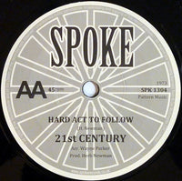 "Tammy St John / 21st Century (6) : Concerning Love / Hard Act To Follow (7"")"