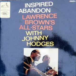 Lawrence Brown's All-Stars With Johnny Hodges : Inspired Abandon (LP, Album)