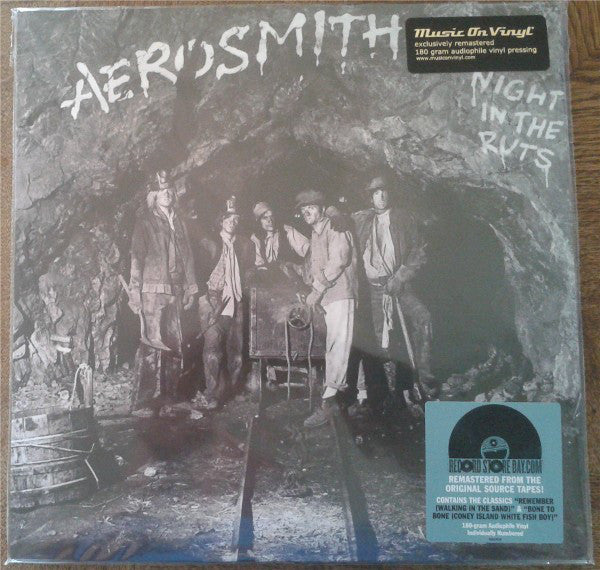 Aerosmith : Night In The Ruts (LP, Album, Ltd, Num, RE, RM, 180)