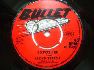 "Lloyd Tyrell : Exposure  (7"", Single, Pus)"