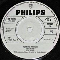 "Jon Ford (2) : Yesterday When I Was Young / Running Around (7"", Single, Promo)"