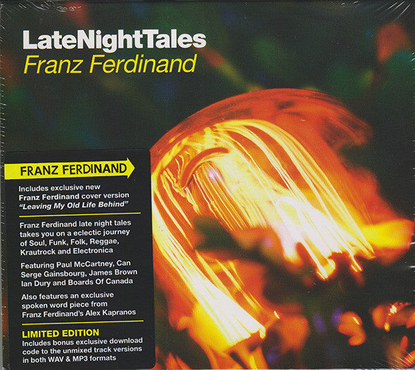 Franz Ferdinand : LateNightTales (CD, Ltd, Mixed)