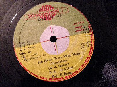 "B.B. Seaton : Jah Help Those Who Help Themselves (12"")"