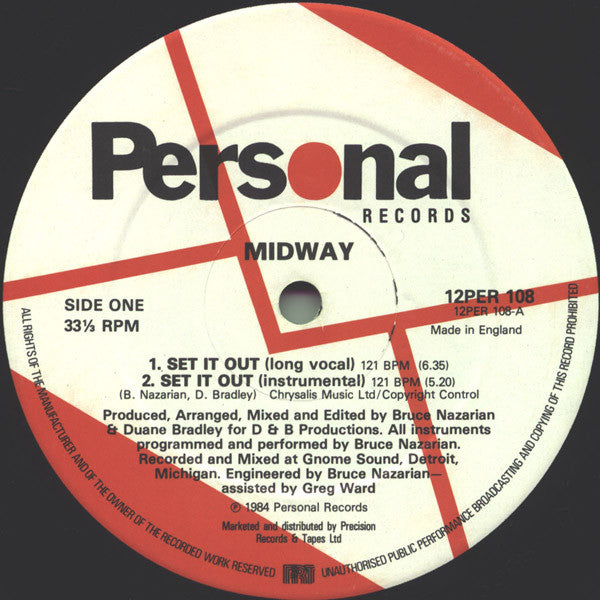 "Midway (2) : Set It Out (12"")"