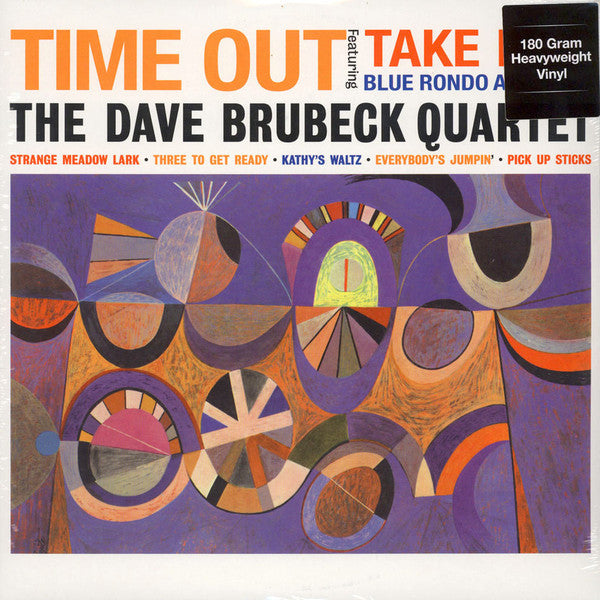 The Dave Brubeck Quartet : Time Out (LP, Album, RE, 180)