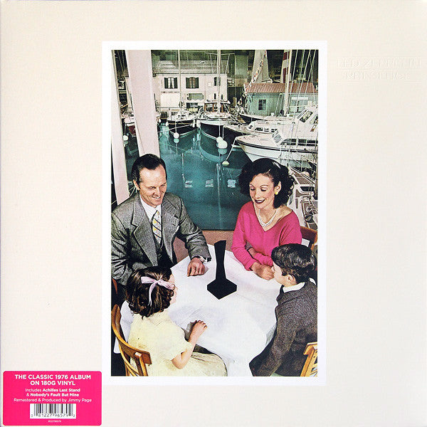 Led Zeppelin : Presence (LP, Album, RE, RM, Gat)