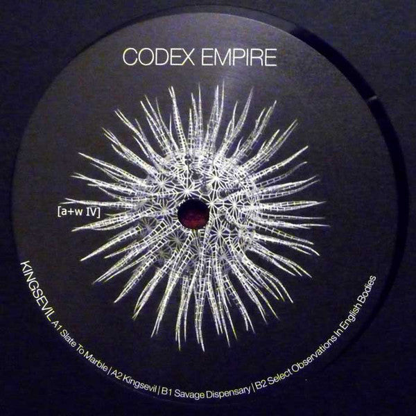 "Codex Empire : Kingsevil (12"", EP, Ltd, Num)"