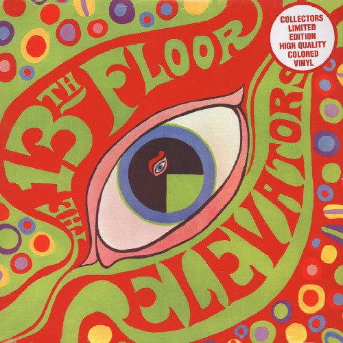13th Floor Elevators : The Psychedelic Sounds Of The 13th Floor Elevators (LP, Album, RE, Red)