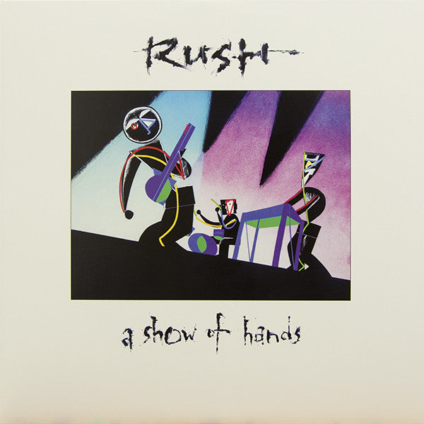 Rush : A Show Of Hands (2xLP, Album, RE, RM, 200)