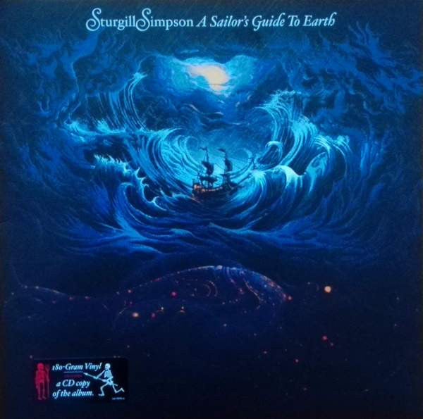 Sturgill Simpson : A Sailor's Guide To Earth (LP, Album, 180 + CD, Album + Album)