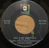"Bobby Byrd & Vicki Anderson : Here Is My Everything / Loving You (7"", Single)"