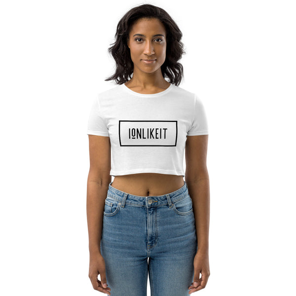 Ion Like It™ Crop Top(Black Logo)