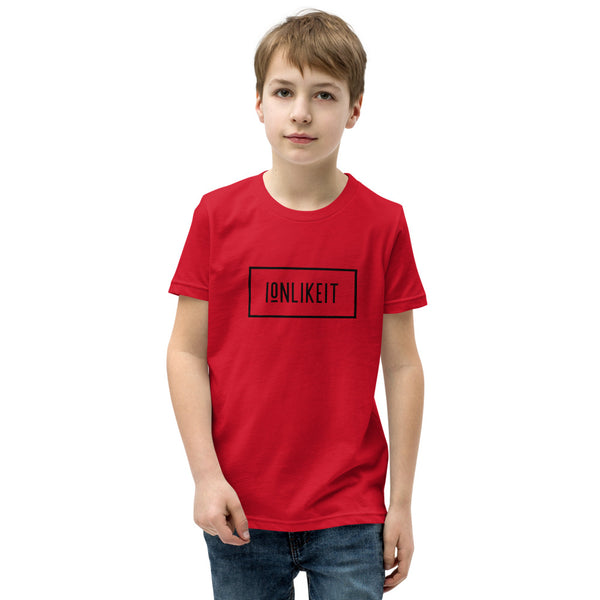 Ion Like It™ Boy's  T-Shirt (Black Logo)