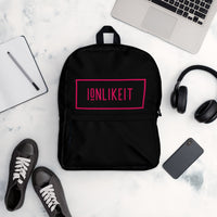 Ion Like It™  Back Pack (Black/Red)