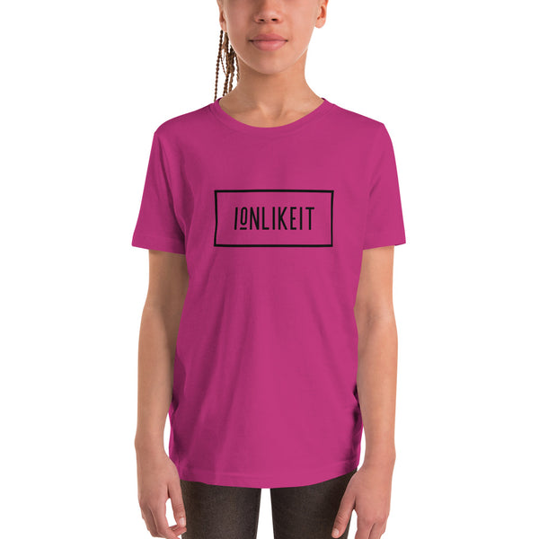 Ion Like It Girl's T-Shirt ™(Black Logo)