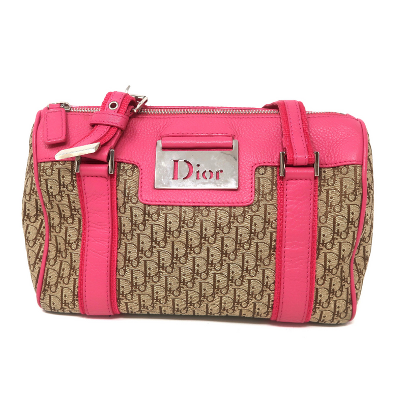 Dior Hot Pink Boston Bag