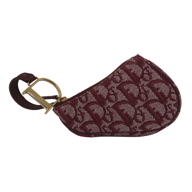 Dior Saddle Coin Pouch