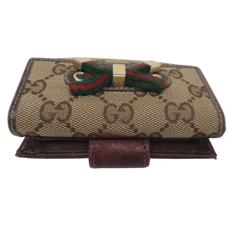 Gucci Bow Compact Wallet