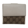 Gucci Heart White Canvas Wallet