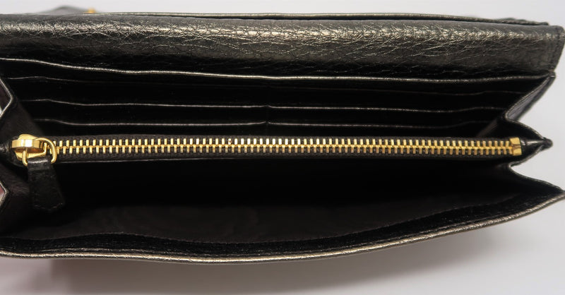 Prada Bronze Wallet