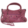Balenciaga Magenta Classic Small City Bag