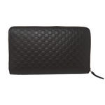 Gucci Brown Guccisima Zippy Wallet
