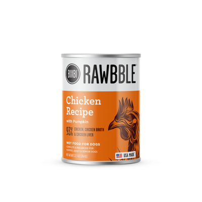 BIXBI - Canned - Rawbble - Chicken 12.5 oz