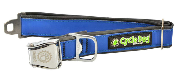 Cycle Dog RegWidth - Blue MAX Reflective Collar - Medium - Large