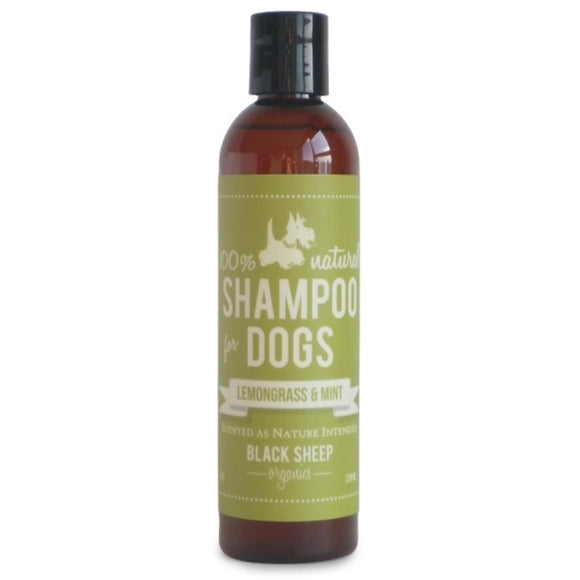 Black Sheep Organics Lemongrass & Mint Organic Shampoo