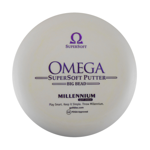 Millennium Big Bead Omega Supersoft Putter Disc Golf Disc