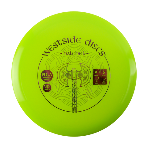 Westside VIP Hatchet Fairway Driver Disc Golf Disc