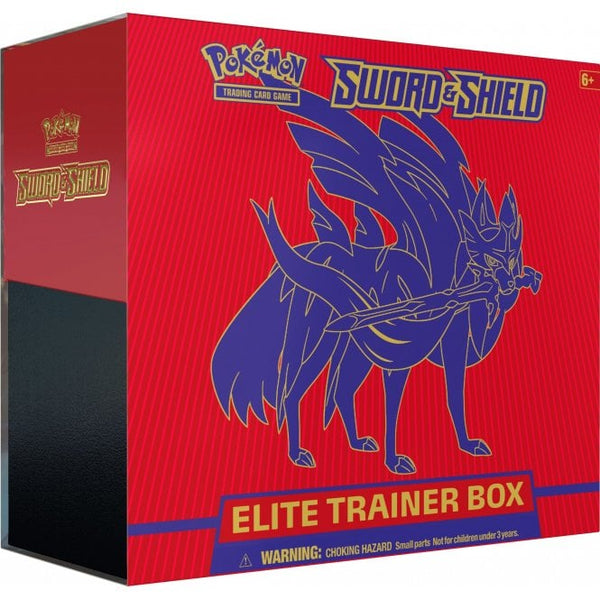 Sword & Shield Red/Blue Elite Trainer Box