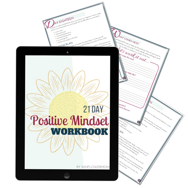 21-Day Positive Mindset Challenge Workbook